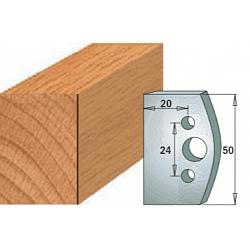 Комплекты ножей и ограничителей серии 690/691 #500 CMT Ножи и ограничители для фрез 50 мм Ножи